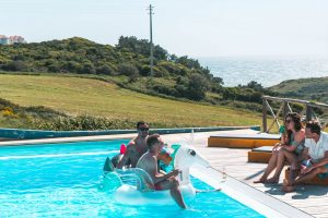 Sunset Surf Lodge Ericeira Portugal Pool Games